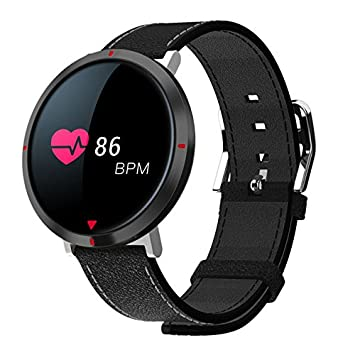 SZHAIYU Fitness Tracker, reloj inteligente ritmo cardíaco pulsera Fitness Tracker IP67 impermeable podómetro recordatorio de llamada Bluetooth pulsera para ...