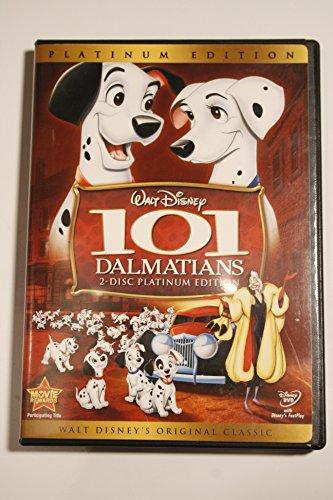 Walt Disney 101 Dalmations 2-Disc Platinum Edition DVD