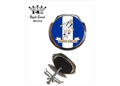 Royale esmalte Royale coche insignia de parrilla – Oldham Athletic 1960/61 B2. 1314