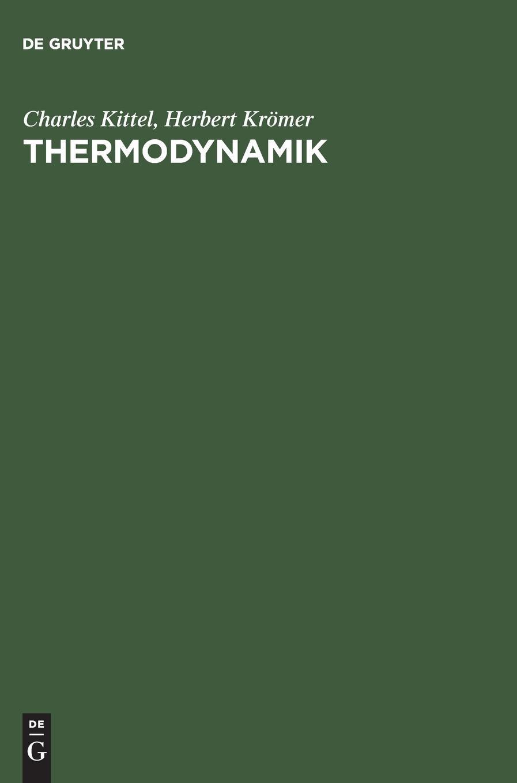 Thermodynamik: Elementare Darstellung der Thermodynamik auf moderner quanten-statistischer Grundlage
