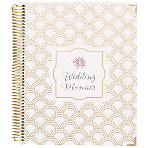 Gold Foil Wedding Planner Style BLPLANNER, Gold