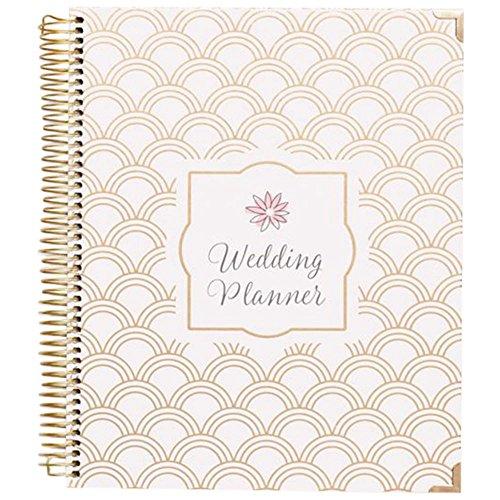 Gold Foil Wedding Planner Style BLPLANNER, Gold