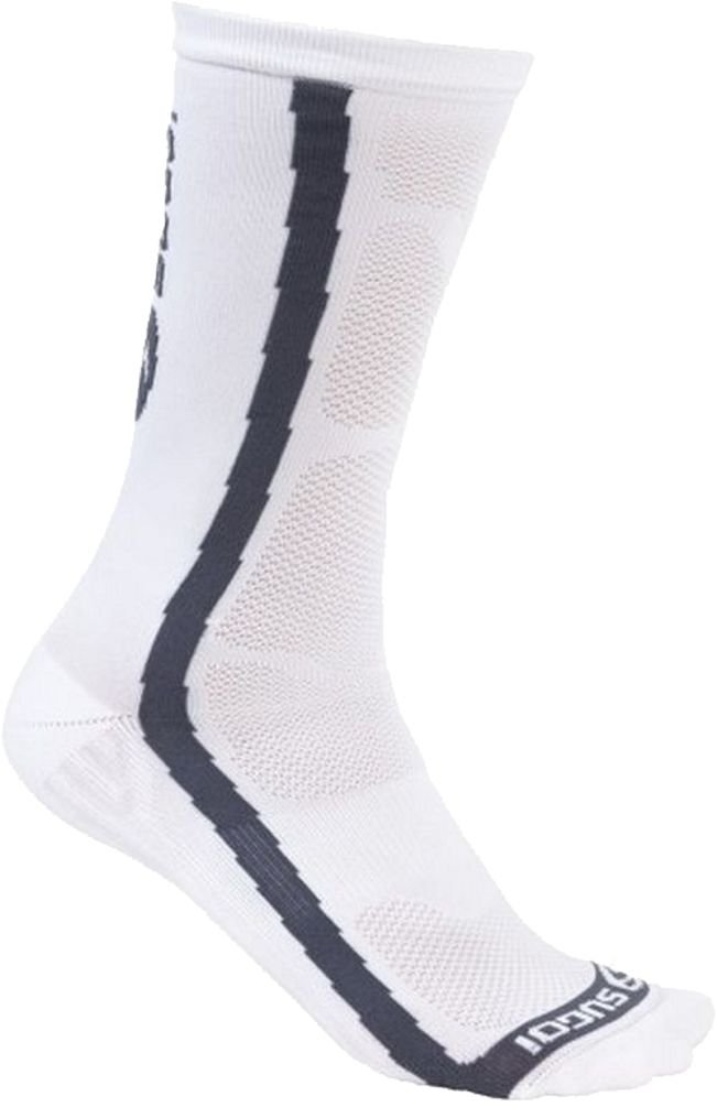 Sugoi RS Crew Socks, White, Small by SUGOi