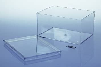 Bekannt 10 x Variocolors Klarsichtdosen transparent 130x96x67mm UQ18