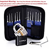 Lock with 17pcs Gift Tools