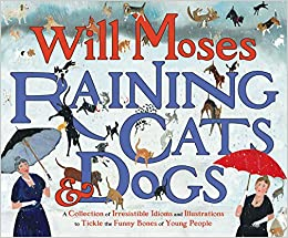Raining Cats And Dogs A Collection Of Irresistible Idioms And Illustrations To Tickle The Funny Bones Of Young People Moses Will Moses Will 9780399242335 Amazon Com Books