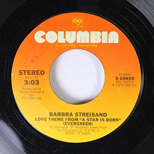 Barbra Streisand 45 RPM Love Theme Frome