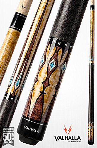 Valhalla by Viking VA502 Pool Cue Stick European Stain Turquoise HD Graphic Transfers 18, 18.5, 19, 19.5, 20, 20.5, 21 oz. (19)
