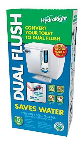 BlueSource HYR270 HydroRight Drop-in Dual Flush Converter by MJSI