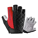 coskefy Cycling Gloves Men Women Gym Gloves Mountain Road Bike Gloves Lightweight Breathable Gel Padded Riding Gloves Sports Gloves (Half Finger & Full Finger)