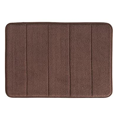 InterDesign Soft Memory Foam Non-Slip Bath Mat for Bathroom, Tub Or Vanity -  - bathroom-linens, bathroom, bath-mats - 51xDsDRLHAL. SS400  -