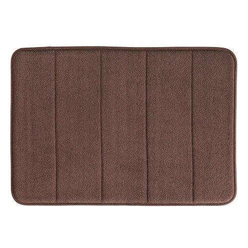 51xDsDRLHAL - InterDesign Soft Memory Foam Non-Slip Bath Mat for Bathroom, Tub Or Vanity