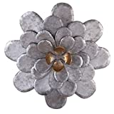 Cheap Foreside FWAD00551 Roadside Wall Flower, Small, Silver
