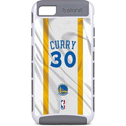 cheap for discount 3a425 995ad Amazon.com: Skinit Golden State Warriors iPhone 8 Case - Stephen ...