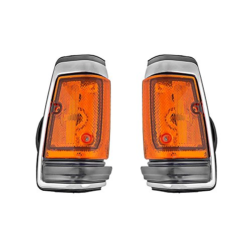 NEW SIDE MARKER LIGHT PAIR FITS NISSAN 720 RWD 1983-86 26180-10W00 2618510W00 2618010W00 NI2551102 26185-10W00