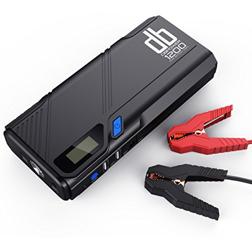 DBPOWER 1200A Portable Car Jump Starter, Car Battery Booster & Charger Pack...