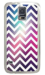 Samsung Galaxy S5 protective cover Cool Chevron PC Transparent Custom Samsung Galaxy S5 Case Cover