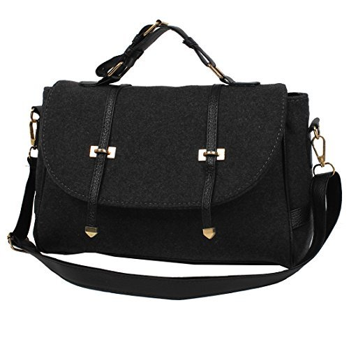 eDealMax Leather Fashion Nubuck Nuove Donne borsa Shoulder Bag Messenger Hobo