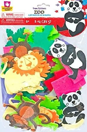 Creative Hands Sticker Bag Zoo Day Arts and Craft Fibre Craft Materials Corp 7098S