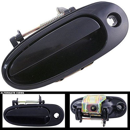 Am Pontiac Door Front Grand (APDTY 88713 Exterior Door Handle Front Left (Driver Side Front) Fits 1999-2004 Oldsmobile Alero & 1999-2005 Pontiac Grand Am (Replaces 22670069))