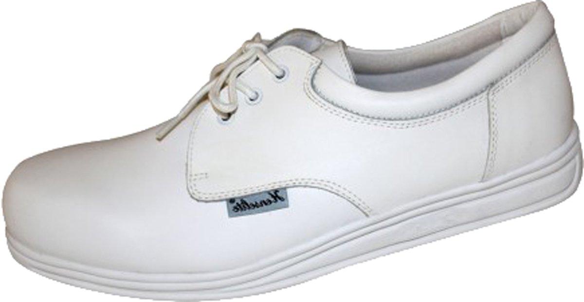 Henselite - Victory Bowls Herren Schuhe Bowling Schuhe Fußbekleidung - Weiß, 43