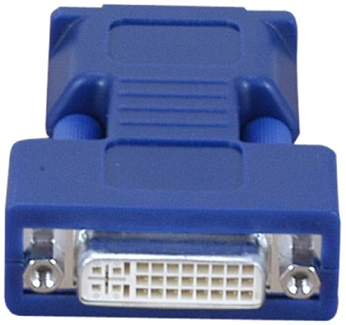 - Avocent VAD-28 Female Dvi-i to Male HD15 VGA Video Adapter