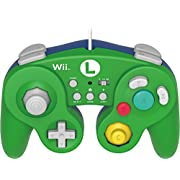 Amazon Lightning Deal 85% claimed: HORI HORI Battle Pad Turbo for Wii U (Luigi Version)