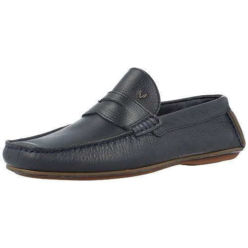 Mocasines para Hombre, Color Azul, Marca Martinelli, Modelo Mocasines para Hombre Martinelli MONTJUIC Azul: Amazon.es: Zapatos y complementos