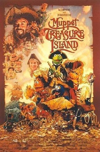 Poster-Muppet Treasure Island Original Movie Poster