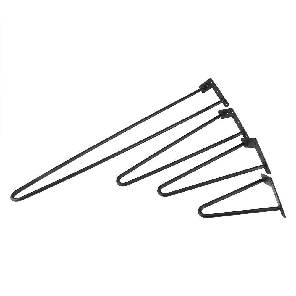 4/x Patas para mesa a forcina para mesa Juego de 4/patas de mesa a dos patas escritorio de dise/ño mesa de comedor mesilla