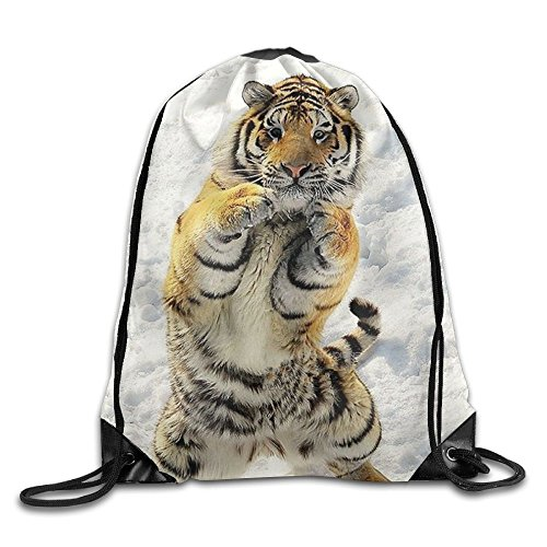 Travel Drawstring Backpacks Sell Cute Tiger Fashion Durable Polyester Drawstring Sports Fan Sackpacks For Shoes from trgfdlamg