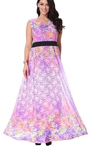 Yacun Women's Sleeveless Lace Maxi Dress (Yacun Women Maxi Dress)