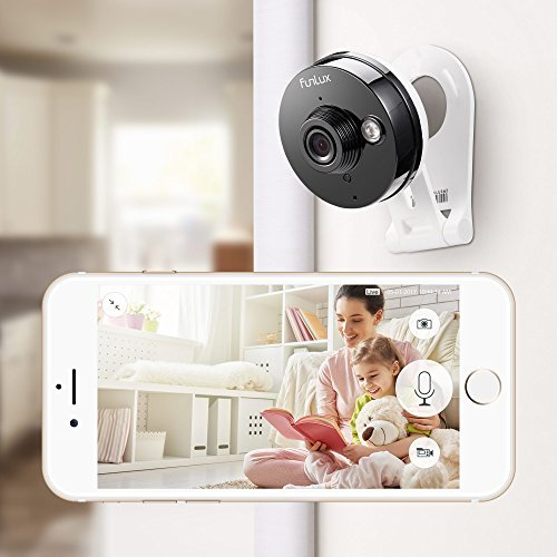 Funlux Wireless Two-Way Audio Home Security Camera (3 Pack) Smart HD WiFi IP Cameras with Night Vision by Funlux