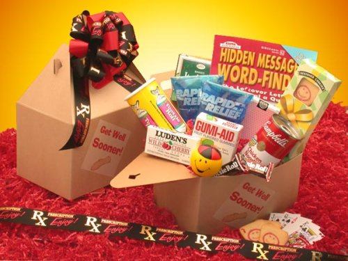 Get Well Wishes! Fun Get Well Activity and Snack Basket
