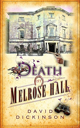 book cover of Death at Melrose Hall