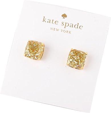 24a218d47c38 Amazon.com  kate spade New York Mini Gold Opal Glitter Stud Earrings 12k GP  Gold  Jewelry