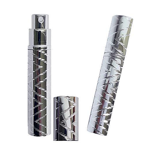 Perfume Spray Bottles Portable Mini Refillable Sprayer Atomizer, Travel Spray Scent Pump Case 8ml, Set of 2pcs ()