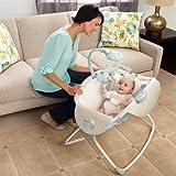 Newborn Rocking Bassinet Baby Cradle Furniture Sleeper Crib Nursery Portable Bed