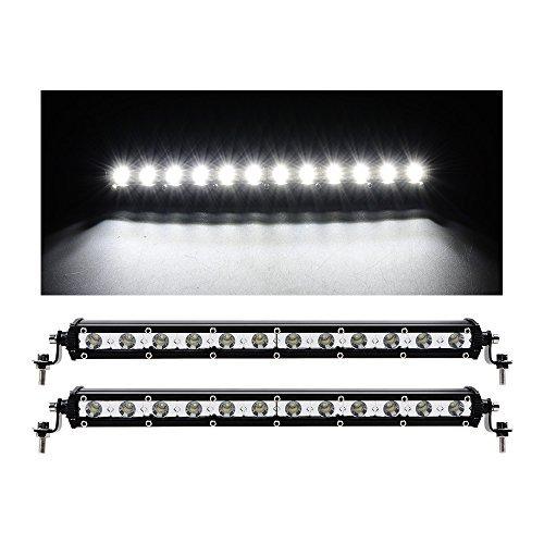 2pcs 12V 18 LED 6000k License Number Plate Lights Lamp for Toyota - 4
