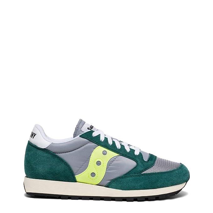 Saucony Hombre Zapatillas Vintage Jazz Original, Verde: Amazon.es: Zapatos y complementos