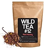 "Organic Chamomile and Honeybush Tea with Vanilla Bean, Wild Tea #12 ""Red Honey"" Herbal Tea with Chamomile Flowers (4 ounce)"