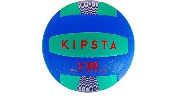 Kipsta V100 Volleyball - Azul/Verde: Amazon.es: Deportes y aire libre