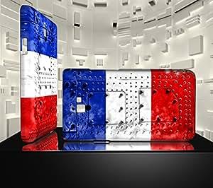 Funda Carcasa para Galaxy S2 Bandera FRANCIA 06