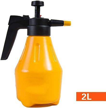 LiChaoWen Pulverizadores de jardinería La presión de Mano Jardín pulverizador de Flujo Regulable for pulverización Continua 1L / 1.5L / 2L (Color : Yellow, Size : 2L): Amazon.es: Hogar