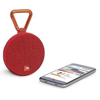 Jbl Clip 2 Waterproof Portable Bluetooth Speaker (Red) 1
