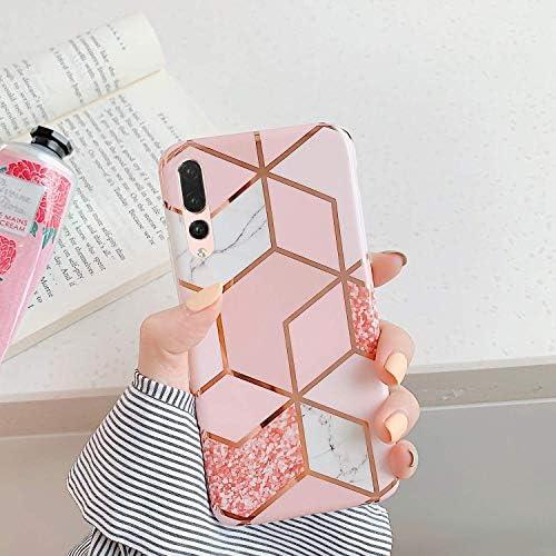 Geschikt voor de volgende modellen Huawei P20 Pro roze goud