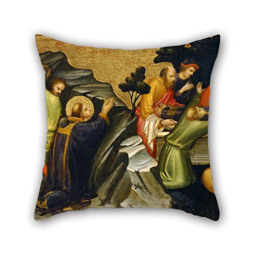 (eyeselect Oil Painting The Burial of St Throw Pillow Covers 16 X 16 Inches / 40 by 40 cm Gift Or Decor for Outdoor Deck Chair Pub Office Seat Teens Boys - Both Sides for Christmas)