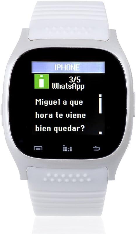 DAM - Smartwatch Timesaphire 2 Bt White, NOTIFICACIONES iPhone 7 ...