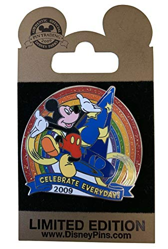 - Disney Pins - Gold Card - Celebrate Everyday - Hollywood Studios - 69797