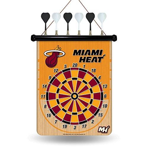 NBA Miami Heat Magnetic Dart Board